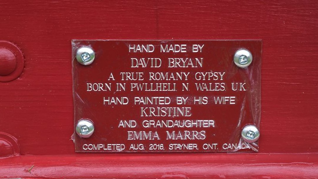 Made by David and Kristine Bryan