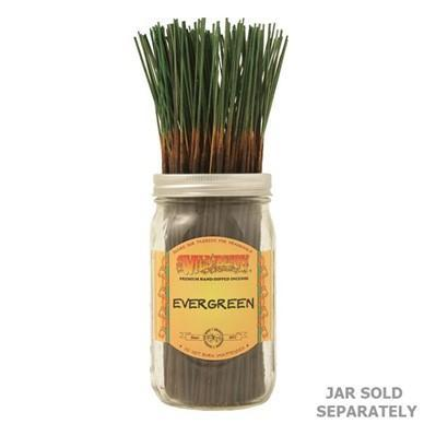 11 in Traditional Stick Incense: Evergreen