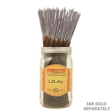 11 in Traditional Stick Incense: Lilac