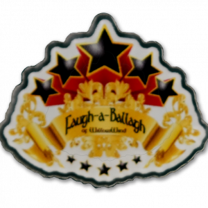 5 Star Acrylic Pin