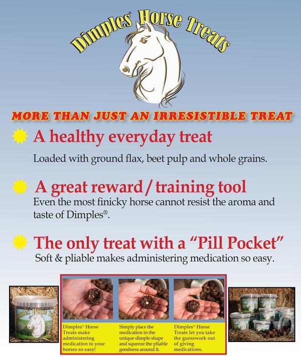 Dimples Horse Treats sheet
